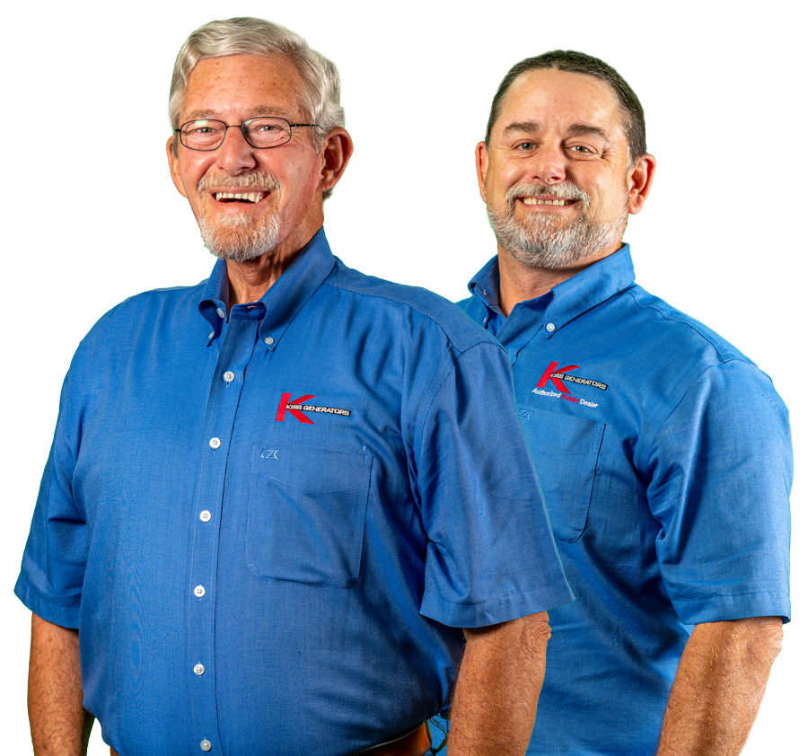 Burt Sr and Burt Jr - KISS Generator Installers Houston